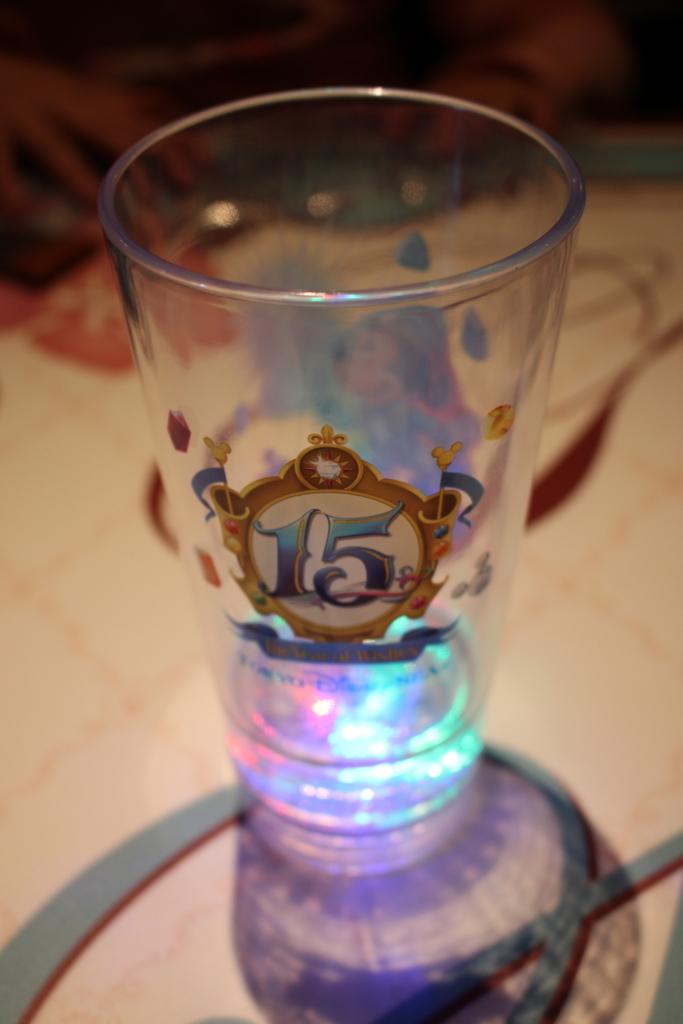 東京ディズニーシー15周年ドリンクカップ