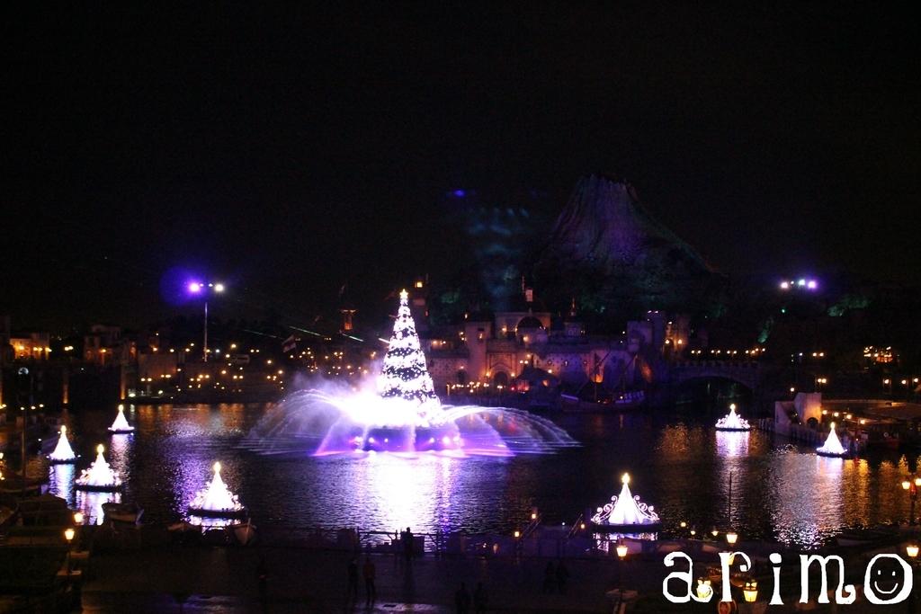 カラー・オブ・クリスマス練習風景