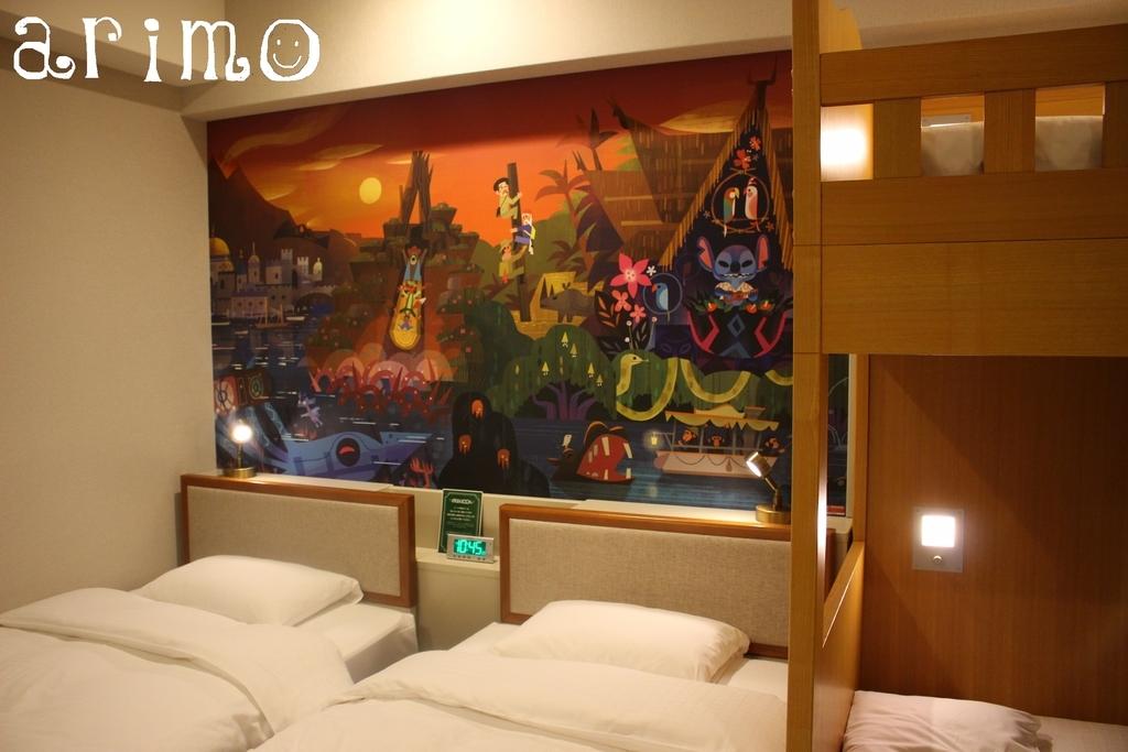 ディズニーセレブレーションホテル・クインテットルーム・
