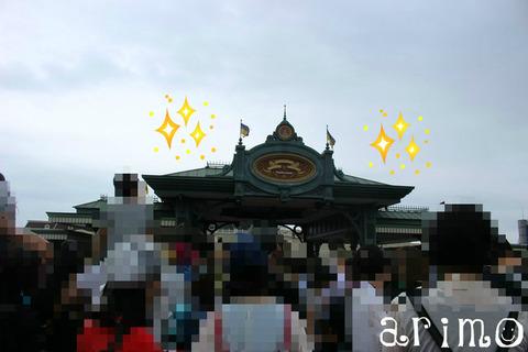 東京ディズニーランド中央エントランス
