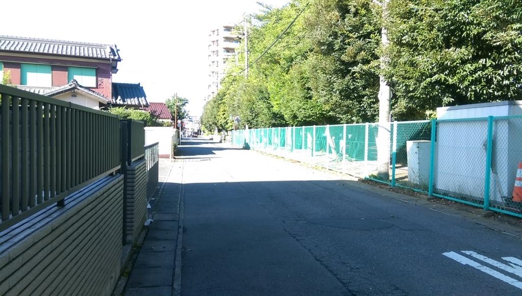 駅東公園-裏口