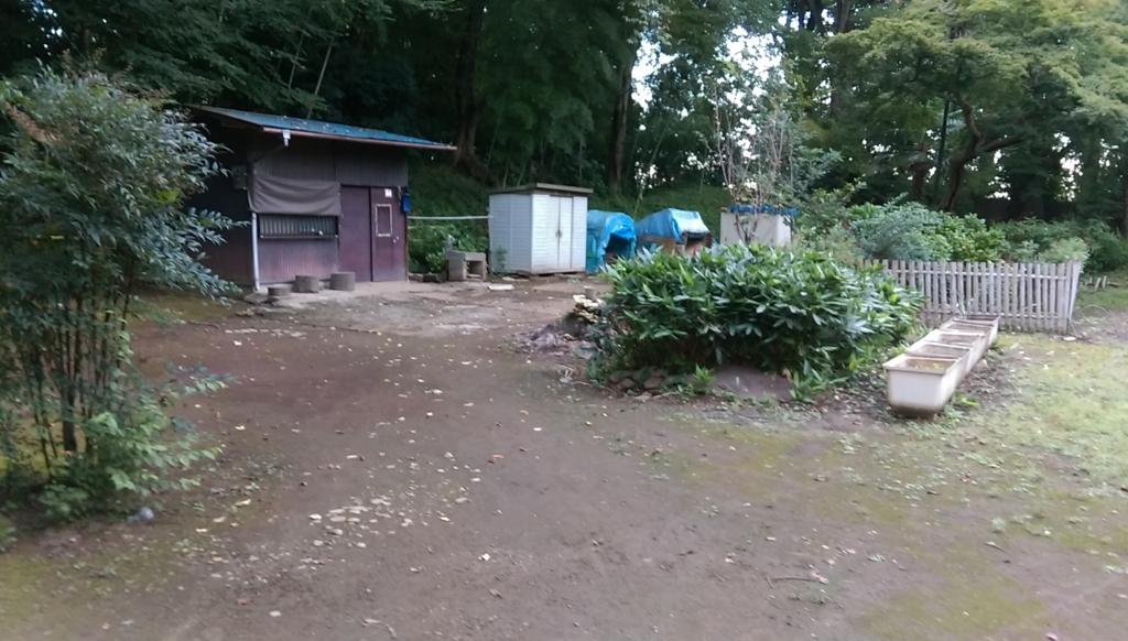 城山公園-小屋