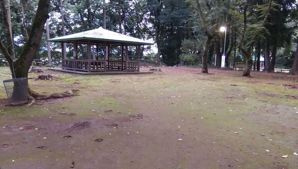 城山公園-休憩所
