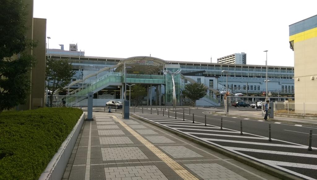 小山駅東口-正面