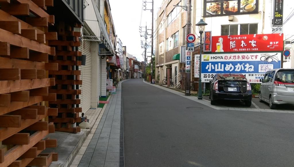 小山駅周辺
