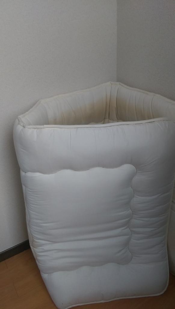 敷布団-壁サポート2倍