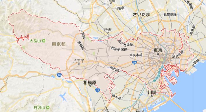 東京-横長
