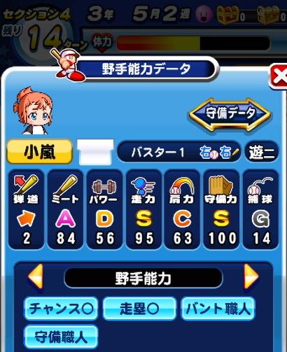 小嵐-レッスンレベル10