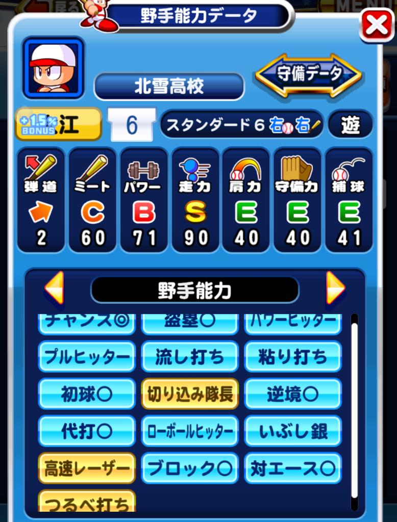北雪4股-育成選手