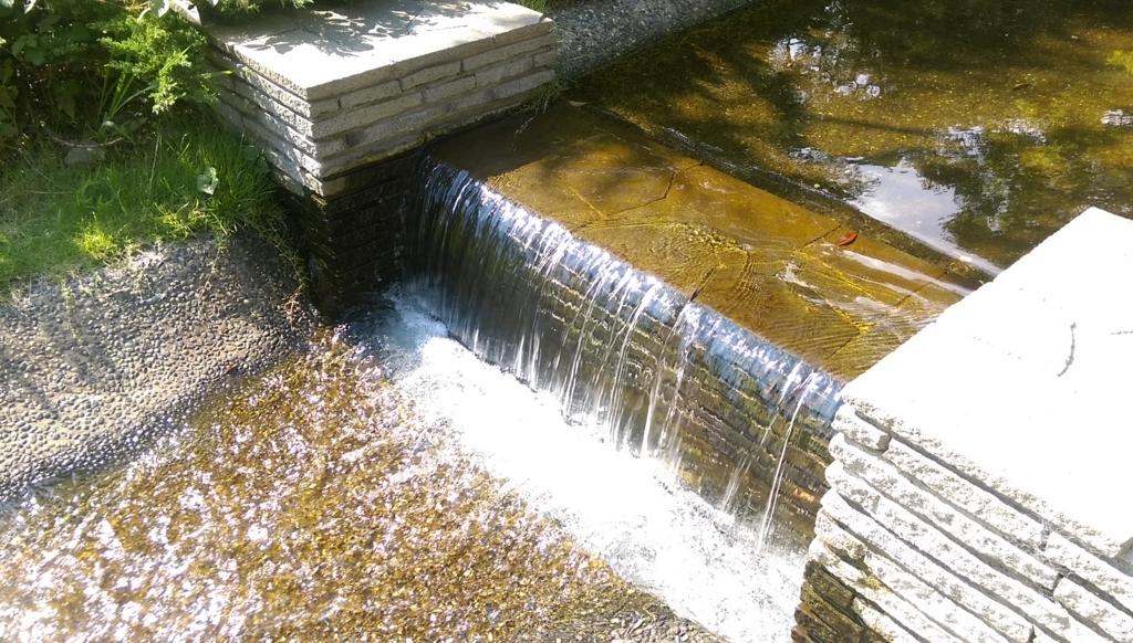新長島川親水公園-川