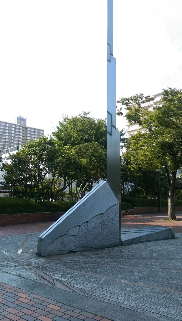 新長島川親水公園-アート