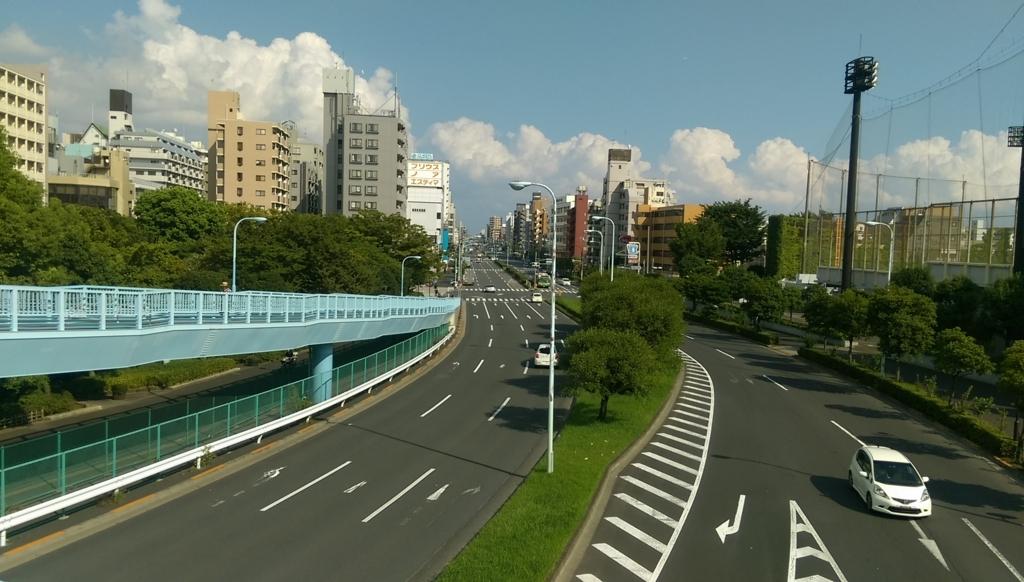 新長島川親水公園-歩道橋