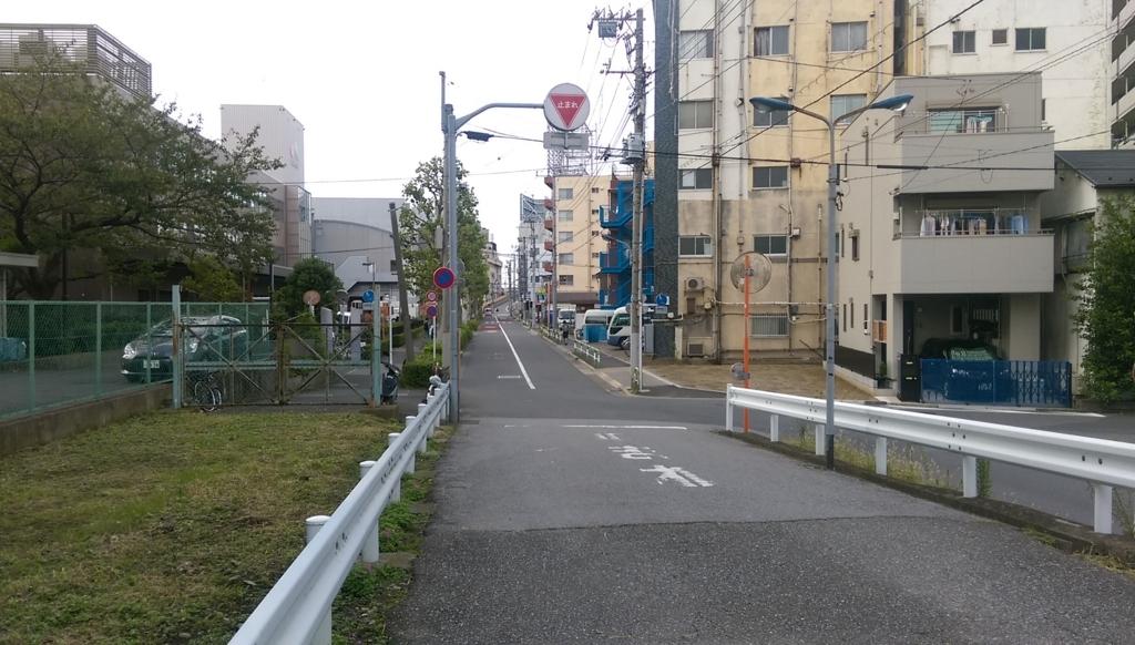 西日暮里-田端-住宅地