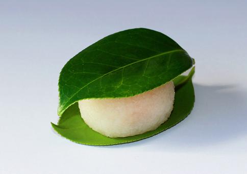 老松 椿餅