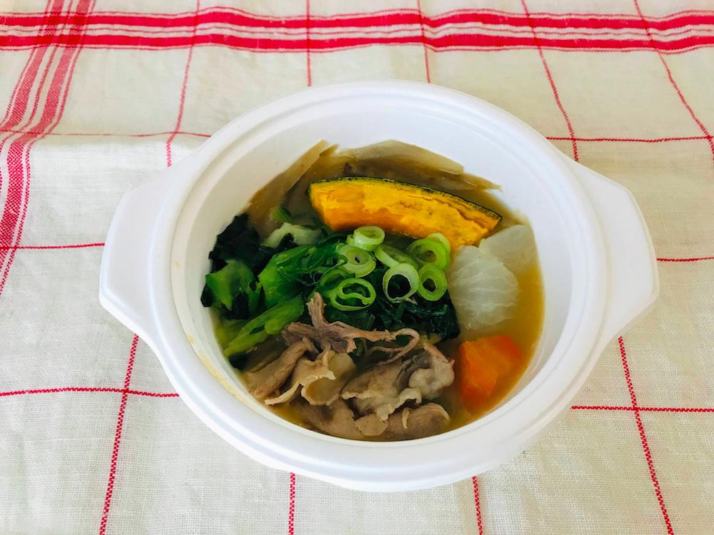 ベジ活スープ食豚汁加熱後