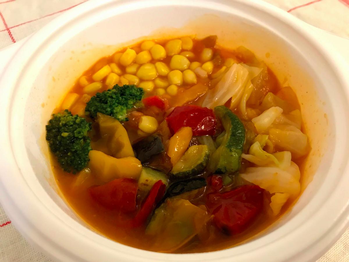 ベジ活スープ食ミネスト加熱後