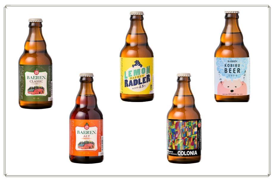 ベアレンビール瓶のラベル