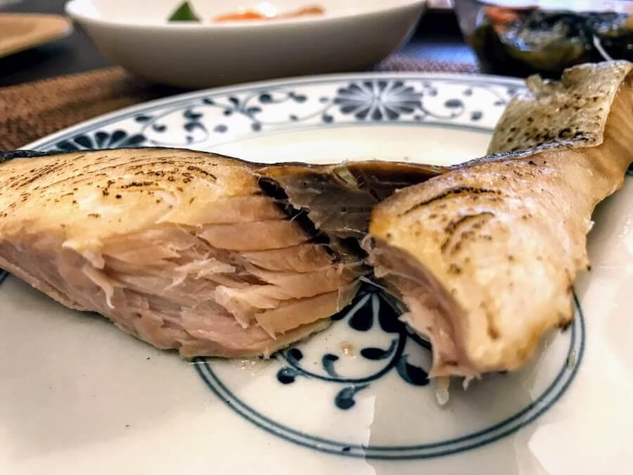 わんまいる鮭の塩焼き