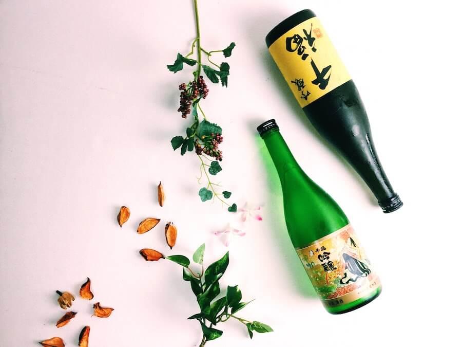 saketaku日本酒2本