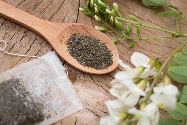 土鍋のカビ臭さの取り方(お茶)