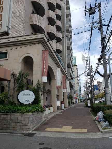 ホテルピエナ神戸の外観