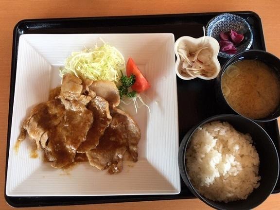 生姜焼き定食 - やまと豚 -