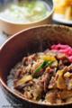 甲州鰍沢の逸品「うま丼」