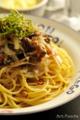 牛肉とオニオンのパスタ/バルサミコ風味