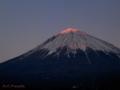 日没紅富士 MtFuji_090112