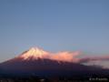 夕方の富士山 MtFuji_090117