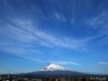 夕方の富士山 MtFuji_090129