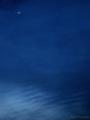 薄暮の空に朧月 Sora_090129
