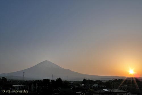 今朝の富士山 MtFuji_0905020530