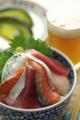 三色海鮮丼_090526