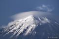 日没直前の富士山 MtFuji_0905301758