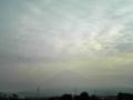 今朝の富士山 MtFuji_0908200551