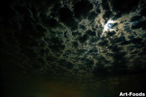 Sora_090906_Moon&Clouds