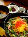 鮭とイクラの親子丼@神戸空港_090922