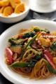 彩り野菜のパスタ マリナーラソース