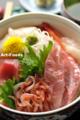 桜海老と金目鯛の海鮮丼