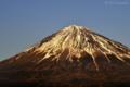 日没前の富士山 MtFuji_100119_1623