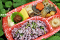 紫黒米のお弁当_100814_2