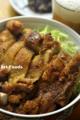 七味から揚げ丼_101221
