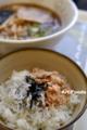 しらすと鮭の二色丼とラーメンのセット_101225