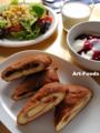 ハム&チーズの揚パンとカレーパン_110127