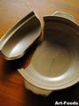 割れた土鍋と掌の傷_110203-1