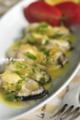生牡蛎の冷製オニオンソース_111216