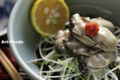 生牡蛎柚子ポン酢_111216