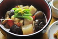 干椎茸と根菜の煮物_120110