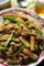 山芋と豚肉のピリ辛みそ炒め_120117